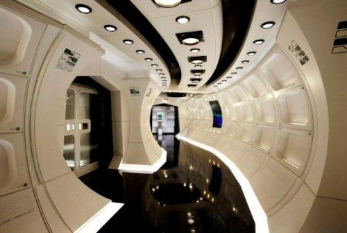 Star Trek Corridor | Starship design, Star trek |Uss Enterprise Corridors